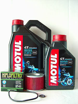 Motul Öl + Ölfilter KAWASAKI ZR1100 Zephyr  Bj 91-97