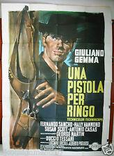 Una Pistola per Ringo (Giuliano Gemma) Italian 4F Movie Poster 1960s