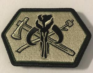 NEW PDW Mythosaur Death Card Mandalorian Lapel Pin Prometheus Design Werx Yoda
