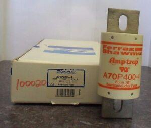 Details about New Ferraz Shawmut A70P400-4 700 Volt 400 Amp Fuse Bussmann on