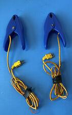 2 Genuine Fieldpiece Digital Gauge Pipe Clamp Thermocouple