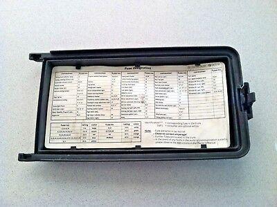 1997-2000 MERCEDES-BENZ C230 C280 W202 ~ FUSE BOX LID ~ OEM PART   eBayeBay