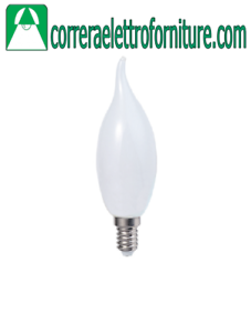 STONE 11005//C ECO LAMPADA LED COLPO DI VENTO OPALE E14 ALTA POTENZA
