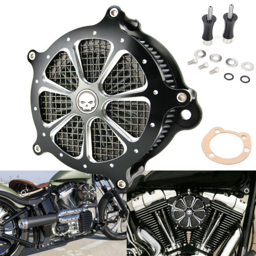 Air Cleaner Intake Filter Kit For Harley Touring Dyna Softail Glide 1993-2007 US