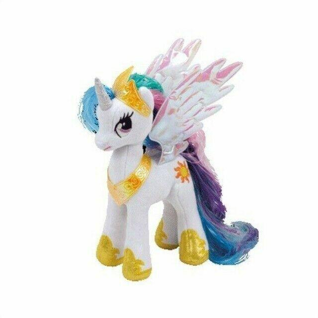 My Little Pony Soft Toy Ty41182 Princess Celestia 20cm For Sale Online Ebay