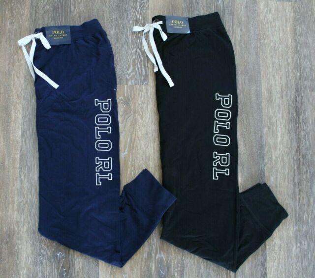 NWT Polo Ralph Lauren Men/'s Fleece Jogger Sweatpants Black M L