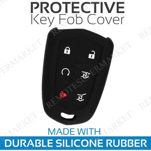 Key Fob Cover For 2015 2016 2017 2018 Cadillac Escalade Remote Case Skin