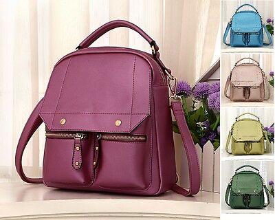 Luxus Rucksack Damen echt Leder Bodybag Messenger Bag Tablet Tasche Cityrucksack