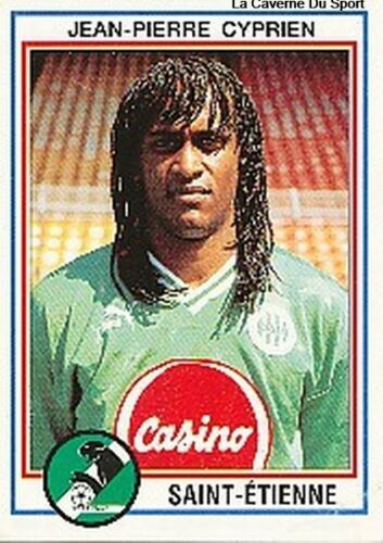 N°199 CYPRIEN AS.SAINT-ETIENNE XAMAX PANINI FOOTBALL 93 STICKER 1993