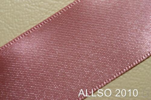 15MM X 20 METRES BERISFORDS DUSKY PINK DOUBLE SIDED SATIN RIBBON COL #60 X 20M