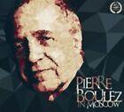 Pierre Boulez in Moscow (CD, Sep-2014, Melodiya)