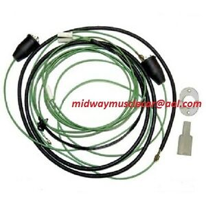 55 chevy wire harness back-up reverse light wiring harness kit 55 56 chevy bel ... 66 chevy wire harness #5