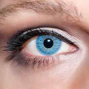 Blaue-Kontaktlinsen-farbige-Hellblaue-Linsen-Blau-Blue-Colour-Contacts-Lens-K101