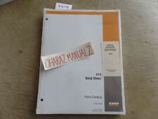 Case 410 Skid Steer Parts Catalog Manual 7 9701na