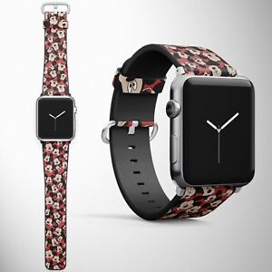 Mickey Mouse Apple Watch Band 38 40 42 44 mm Series Disney ...
