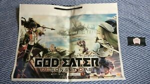 Genuine-God-Eater-3-Resonant-Ops-Promotional-Bag-Tokyo-Game-Show-Double-Sided