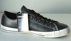 2d6090cd2168e6 Converse All Star Distressed Oxford Sneaker Blk-White Size  11 Style ...
