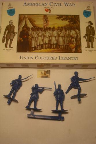 soldatini Toy Slodiers A Call to Arms Fanteria di Colore Nordista ACW sc.1:32