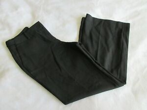 Ann Taylor LOFT Julie Career Trouser Flat Front Pants Women's Black 6P Petite