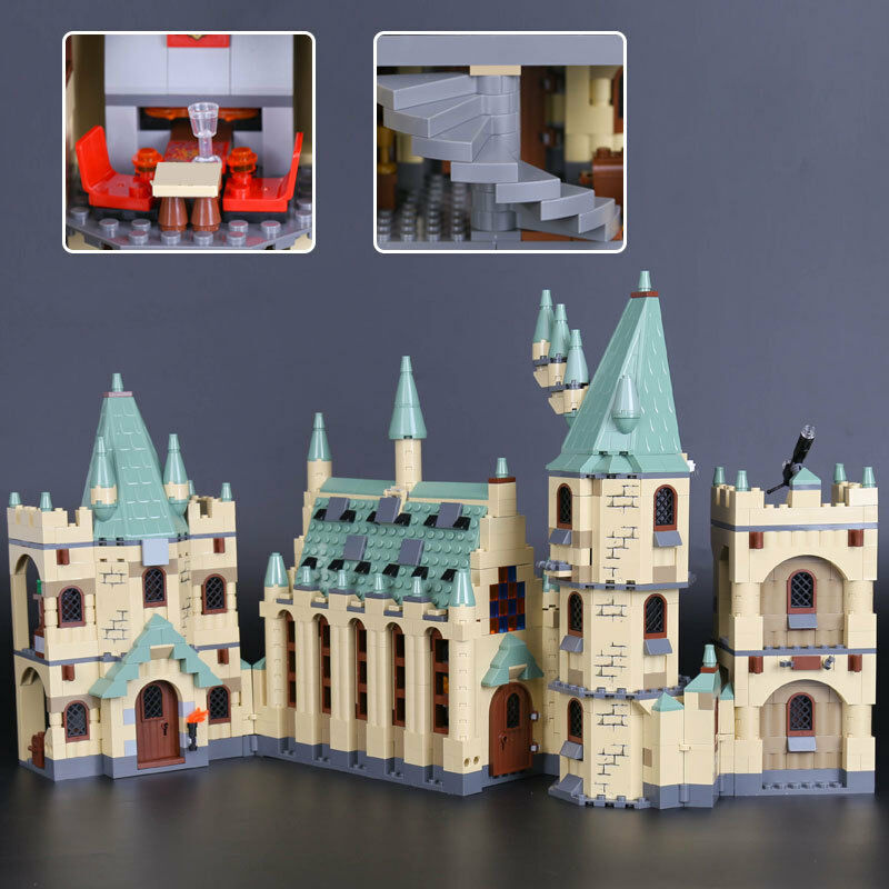 Best Toy Harry potter potter potter series hogwarts castle sets Building Toys gift 1340pcs f6c1f7