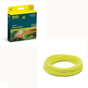 Rio Aqualux Midge Tip Fly Line Free Shipping In Usa Ebay