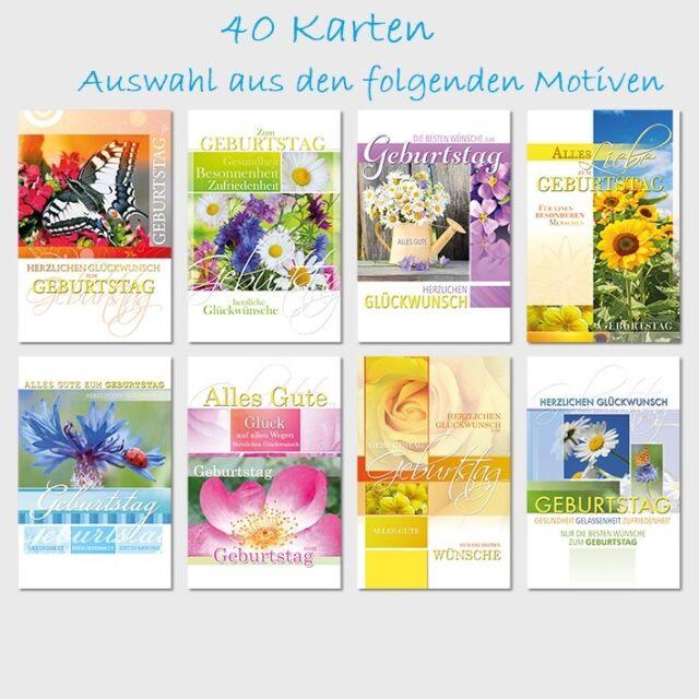 50 Geburtstagskarten Geburtstagskarte Glückwunschkarten Geburtstag sk 4897