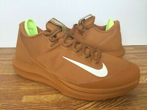 823d588f6bee Nike Court Air Zoom Zero HC Men s Tennis Shoes AA8018-200 Tan Beige ...