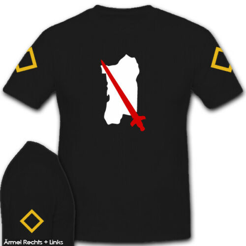 leichte Afrika Division Heer Deutschland WK 2 Truppenkennzeichen T Shirt #5612