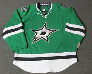 sneakers for cheap df941 3c940 Details about New Dallas Stars Authentic Team Issued Reebok Edge 2.0 Hockey  Jersey NHL Green