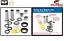 miniature 1 - Kit Roulements de bras oscillant All Balls SUZUKI LTR 450 LTR450 2006-2011