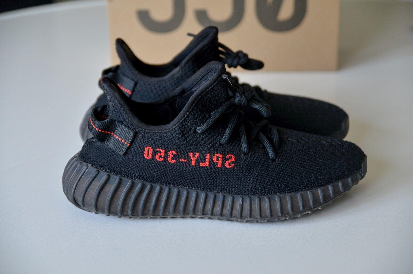 Adidas Yeezy Boost 350 V2 nero rosso Brosso Brosso Brosso US 6 FR 38 2 3 CP9652 | Arte Squisita  | Sig/Sig Ra Scarpa  0595c6