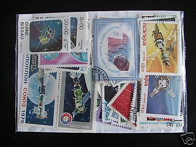2019 Neuestes Design 100 Briefmarken Enge / Satelliten : 100 Briefmarken Alle Verschiedene