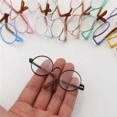 Round Frame Clear Lens Eyewear Glasses for 12/'/' Blythe Dolls AccessorySP