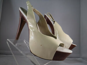 2deec0b41d Image is loading PFR-Jessica-Simpson-ASTOR-Ivory-Cream-Patent-Leather-