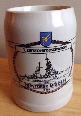Cup Destroyer 5 D179 German Navy Bundeswehr Ship Mug Emblem #20365