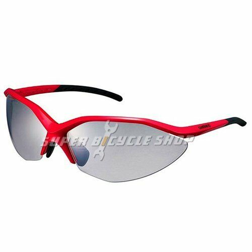 Shimano CE-S52R-PH Photochromic Cycling Sport Sunglasses, rosso