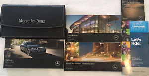 2017 MERCEDES BENZ E CLASS E300 E400 E550 Owner Owners Operators Manual SET