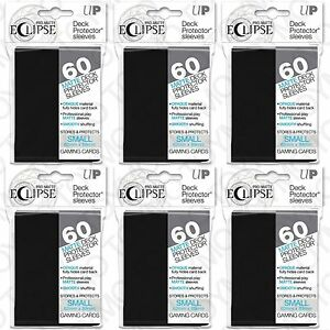 360-Ultra-Pro-Matte-ECLIPSE-BLACK-Small-Mini-Deck-Protector-Card-Sleeve-85386