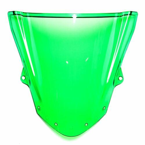 Double Bubble Racing Windscreen Screen Green