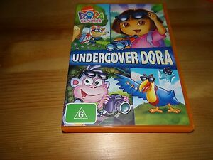 DORA THE EXPLORER: UNDERCOVER DORA DVD | eBay Dora The Explorer Undercover Dora