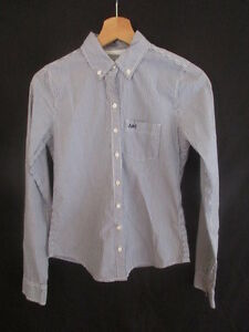 Chemise-Abercrombie-amp-Fitch-Bleu-Taille-XS-a-55