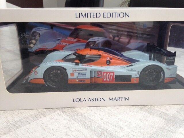 ASTON MARTIN LMP1 Le Mans Mans Mans 2009 GULF BOX   7 NOREV 1 18 new 29e53c