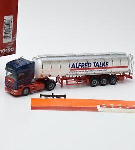 Herpa-H0-144759-Scania-Tank-Sattelzug-034-Alfred-Talke-034-OVP-1-87-K065