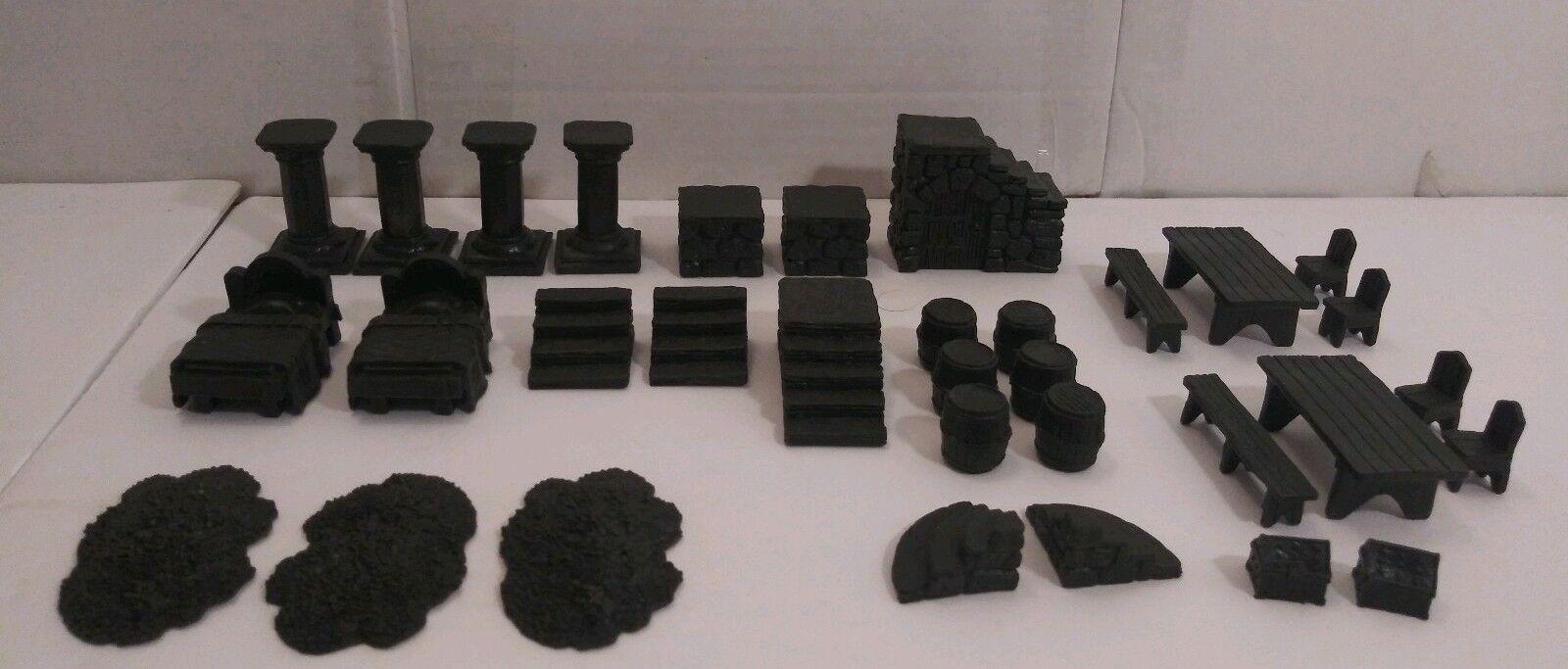Dvärven Forge 33 e stycket Oförändrad Dvärvenit Maze Dungeon Tabeller