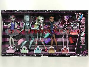 monster high doll dance class 5 pack target exclusive new in box