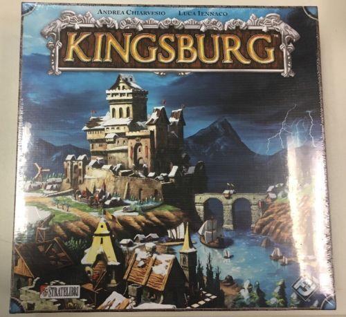 Kingsburg Board Game Fantasy Flight Games NEW Sealed