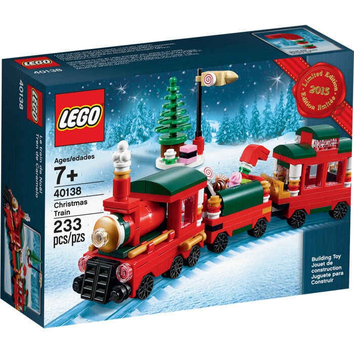 LEGO 40138-Weihnachtszug-Christmas Train-Limited Train-Limited Train-Limited Edition 2015-OVP-Neu-New 966b71