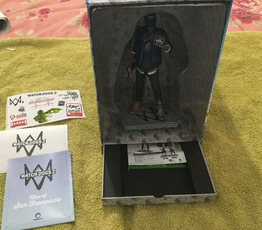 """Watch Dogs 2 Marcus Figure, Official Merchandise 9.5"""""""