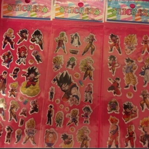 DBSuper Puffy Stickers DBZ 3Set Dragon Ball
