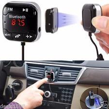 Wireless Bluetooth FM Transmitter Car Kit MP3 Player USB SD LCD Remote Handsfree